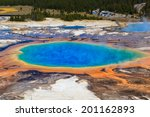 grand prismatic spring in... | Shutterstock . vector #201162893