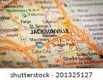 map photography  jacksonvile... | Shutterstock . vector #201325127