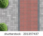 exterior detail in aerial view... | Shutterstock . vector #201357437