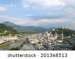 salzburg  the fourth largest... | Shutterstock . vector #201368513