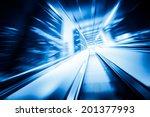 overpass elevator | Shutterstock . vector #201377993