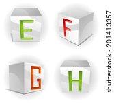 kubische alphabet clip art vektor kubische alphabet 73 grafiken. Black Bedroom Furniture Sets. Home Design Ideas