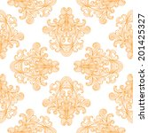 vector seamless pattern with... | Shutterstock .eps vector #201425327