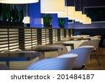 Empty Modern Restaurant...
