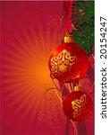 christmas decoration  47.... | Shutterstock .eps vector #20154247