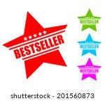 bestseller icon | Shutterstock .eps vector #201560873
