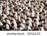 secondary school students... | Shutterstock . vector #2016123