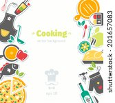 cooking background | Shutterstock .eps vector #201657083