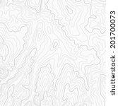 light topographic contour map...   Shutterstock .eps vector #201700073