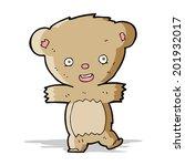 cartoon teddy bear   Shutterstock . vector #201932017