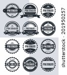 premium badge and label theme | Shutterstock .eps vector #201950257