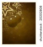 vintage christmas decoration | Shutterstock . vector #20202808