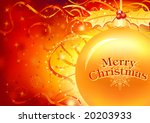 christmas card  with layers    Shutterstock .eps vector #20203933