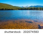 Mountain Lake In Colorado. Ech...