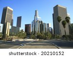 los angeles financial district | Shutterstock . vector #20210152