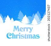 winter design | Shutterstock . vector #202127437