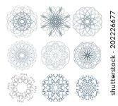 geometric vector illustration... | Shutterstock .eps vector #202226677