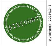discount sale icon  badge ... | Shutterstock .eps vector #202341343