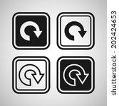 reload icon | Shutterstock .eps vector #202424653