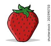 cartoon strawberry   Shutterstock .eps vector #202590733