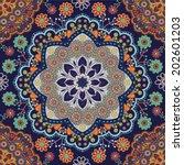 ethnic seamless pattern | Shutterstock .eps vector #202601203