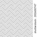 abstract seamless geometric... | Shutterstock . vector #202630747