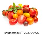 different kinds of old tomato