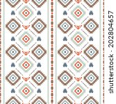 vector seamless pattern with... | Shutterstock .eps vector #202804657