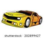 super car | Shutterstock .eps vector #202899427