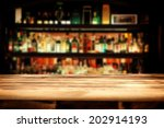 bar and desk