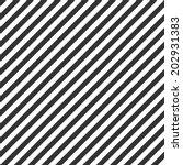 Striped Pattern  Seamless Blac...
