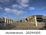 Small photo of Roald Dahl Plas in the Cardiff Bay Mermaid Quay area