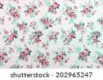 abstract floral pattern | Shutterstock . vector #202965247