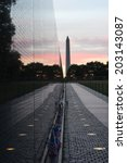 The Vietnam Veterans Memorial...