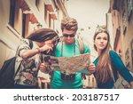 Multi Ethnic Friends Tourists...