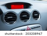 air conditioner in car | Shutterstock . vector #203208967