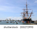 portsmouth harbour  england