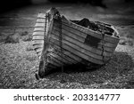 An Old Abandoned Fishing Boat...