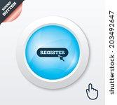 register with cursor pointer...