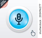 microphone icon. sp