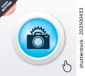 photo camera sign icon. photo...
