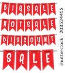 sale design | Shutterstock .eps vector #203524453