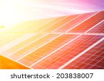 photovoltaic cells | Shutterstock . vector #203838007