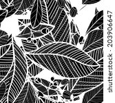 floral pattern seamless  eps 10 | Shutterstock .eps vector #203906647