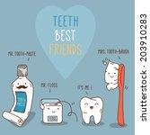 Teeth Best Friends   Tooth Pas...