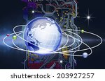 an image of network | Shutterstock . vector #203927257