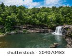 Waterfall At Little River...