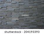 Black Slate Wall Texture And...