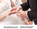 wedding ceremony.  wedding... | Shutterstock . vector #204193687