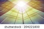 panoramic and perspective wide... | Shutterstock . vector #204221833